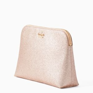 NWT Rose Gold Glitter Small Briley
